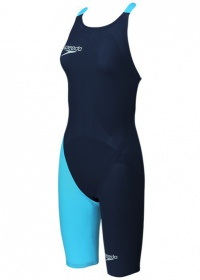 Speedo LZR ELITE 2 Openback Kneeskin V2 Navy/blue