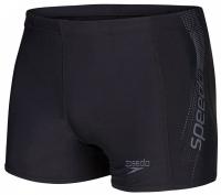 Speedo Sports Logo Aquashort Black/USA Charcoal