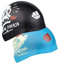 Mad Wave Pool King Reversible Swim Cap Junior