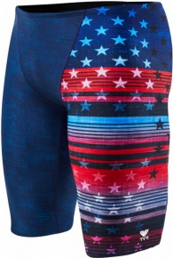 Tyr Liberty All Over Jammer Red/White/Blue