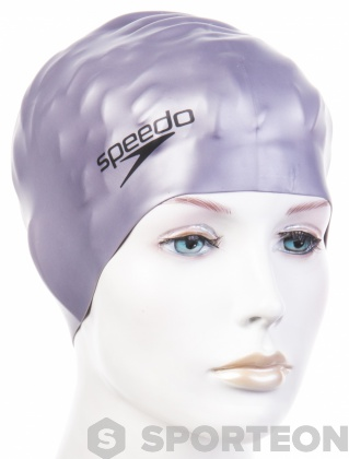 Speedo Plain Flat Silicon Cap