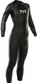 Tyr Hurricane Wetsuit Cat 2 Women Black/Lt Blue
