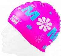 BornToSwim Mom Swimming Cap