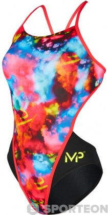 Michael Phelps Foggy Open Back Multicolor/Black