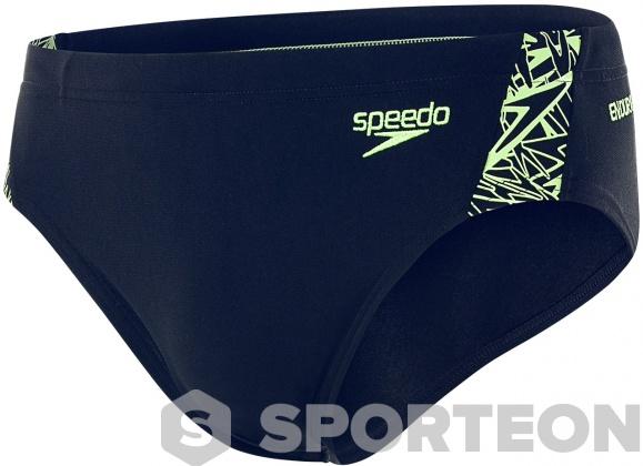 Speedo Boom Splice 6.5cm Brief Boy Navy/Bright Zest