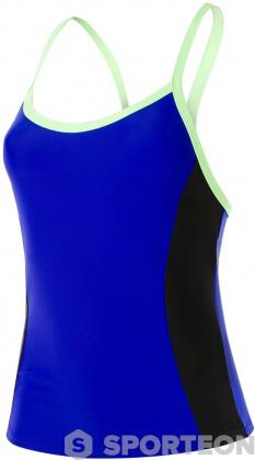 Speedo Hydractive Tankini Top Chroma Blue/Black/Bright Zest