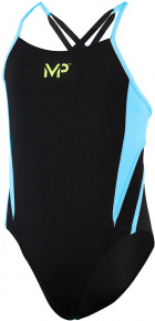 Michael Phelps Tina Girls Black/Turquoise