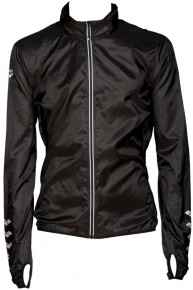 Arena M Run Windbreaker Black