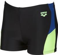 Arena Ren Short Junior Black/Royal/Shiny Green