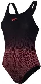 Speedo Placement Medalist Black/Phoenix Red