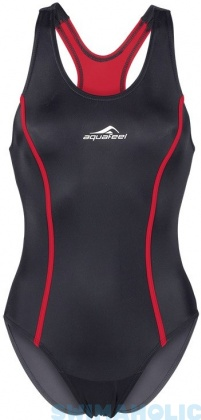 Aquafeel Aquafeelback Aqualine Black/Red