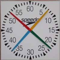 Swimaholic 4 Handed Pace Clock Square 1000mm