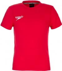 Speedo Small Logo T-Shirt Junior Red