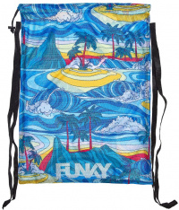 Funky Summer Bay Mesh Gear Bag