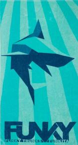 Funky Shark Bay Towel